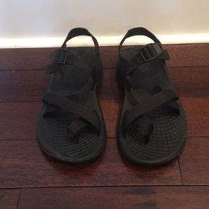 Men's Chaco sz 10 Z Volv 2 black sandals
